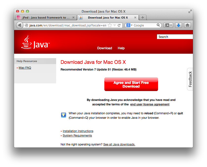 install java 8 on mac os x
